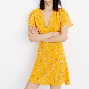 Madewell NWT Silk Belladonna Dress- SZ 2